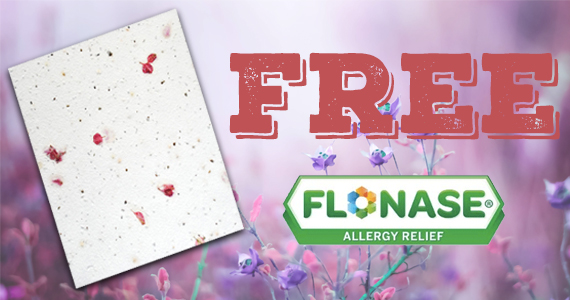 Save $6 off Flonase Allergy Relief & Get a FREE Gift