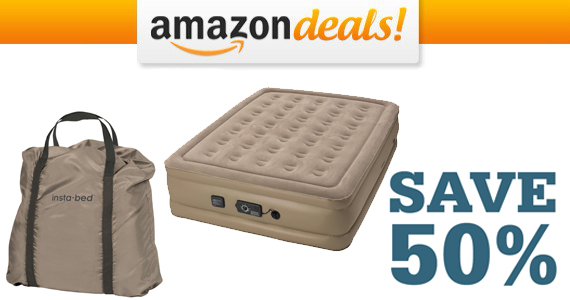 Save 50% off an Insta-Bed Air Mattress