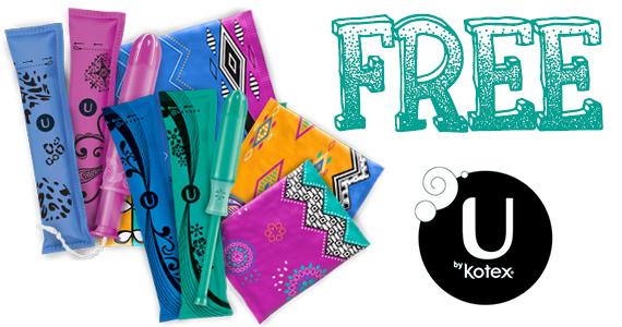 Get a Free U By Kotex Sample