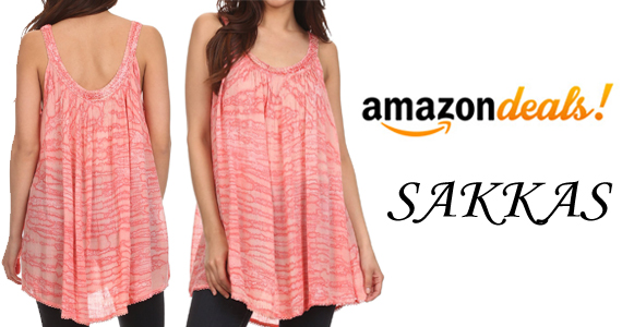 Save 77% off a Rachel Verigated Embroidered Tank Top