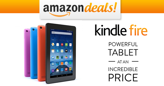Get an Amazon Kindle Fire for ONLY $49.99