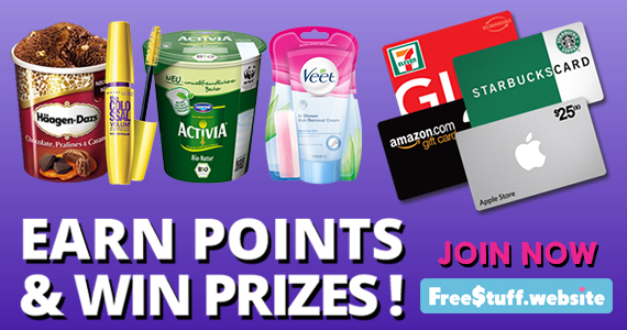 Win Prizes and Rewards For Earning Points!
