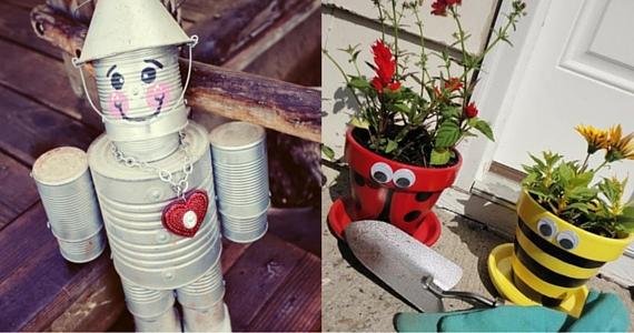 DIY Garden Accents