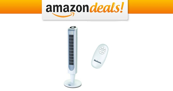 Get a Holmes Oscillating Tower Fan For Only $39.99