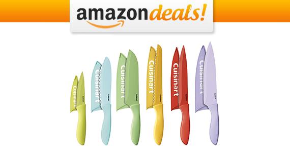 Get a Cuisinart 12-Piece Ceramic Knife Set For $23.99