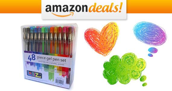 Get a LolliZ Gel Pens 48 Set For Only $11.99