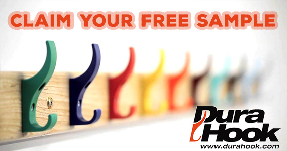Free Sample DuraHook Coat Hook