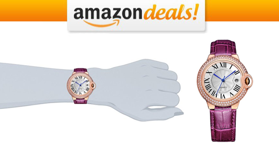Get a BINGER Rose Gold Watch For Only $13.59!