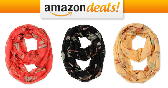 Get a Corciova Dragonfly Infinity Scarf For $10.19