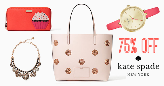 SURPRISE! Save Up To 75% off Kate Spade
