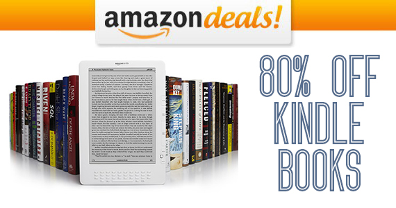 Save up to 80% off Kindle Books