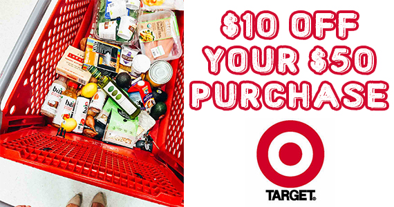 $10 Off Your Grocery Purchase Of $50 Or More At Target
