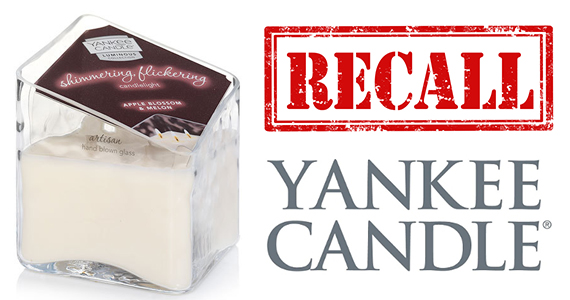 Yankee Candle Recall: Luminous Collection