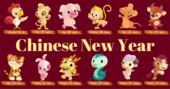 Chinese New Year Is Coming Up! Do You Know Your Animal?