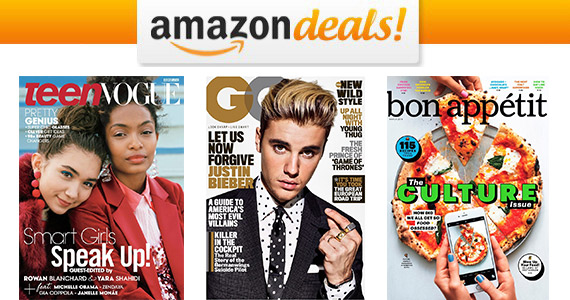 Select Magazine Subscriptions Starting at $4