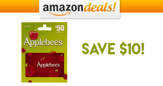 Get a $50 Applebees Gift Card For Only $40