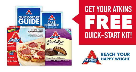 Get Your Free Atkins Quick-Start Kit & $5 Coupon