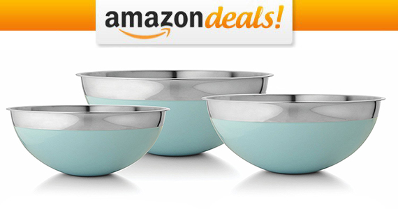 Francois et Mimi Stainless Steel Mixing Bowl Set For Only $10.39