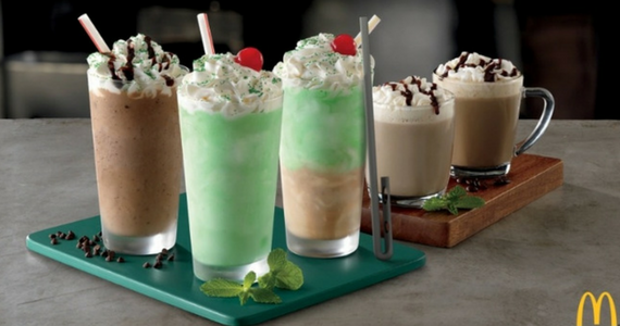 McDonald's New Shamrock Shake Straw Is Sipper-Duper