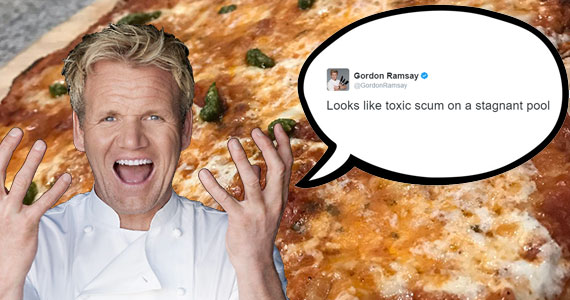 Gordon Ramsay Has Been Tweeting Ruthless Food Reviews
