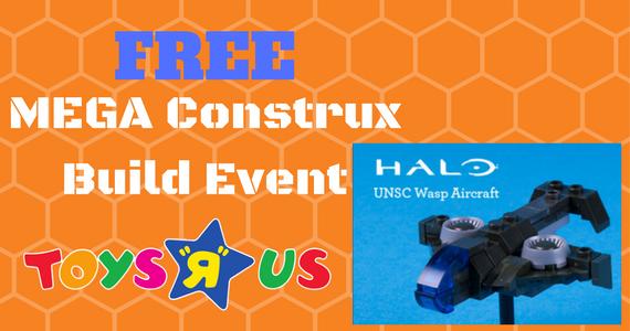 Free MEGA Construx Event