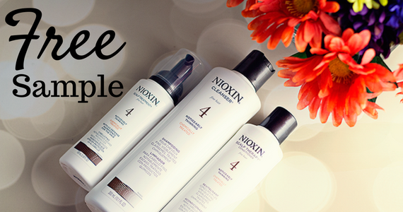 Free Sample of Nioxin Shampoo & Conditioner