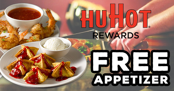 FREE Appetizer at HuHot Mongolian Grill