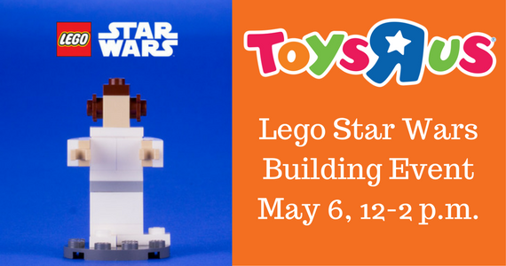 LEGO Star Wars Building Event at Toys R Us