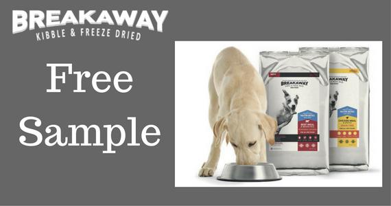 Free Breakaway Dog Food Sample