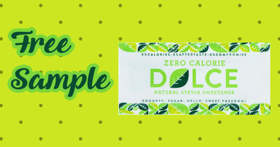 Free Sample of Dolce Natural Sweetener