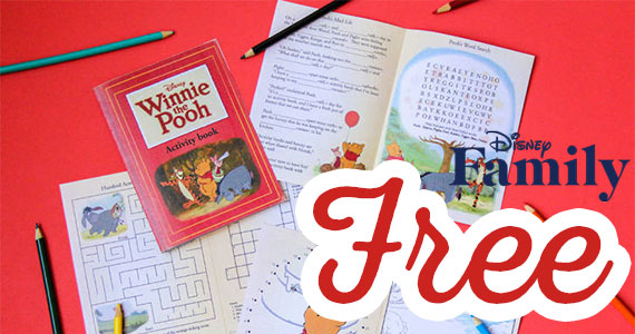 Free Printable Winnie The Pooh Activity Book