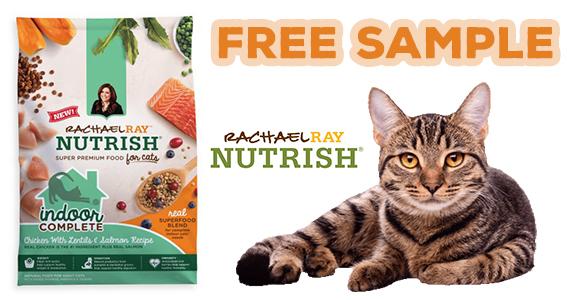 Free Indoor Complete Dry Cat Food Sample