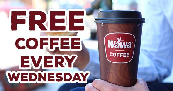 Free Cup of Coffee at Wawa