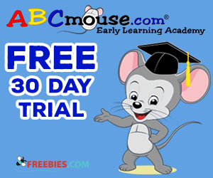 Free 30 Day Trial of ABC Mouse