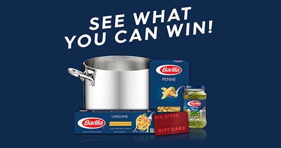 Win Barilla Pasta Prizes
