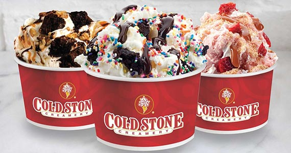 Sign Up With Cold Stone Creamery For a Free Frozen Treat
