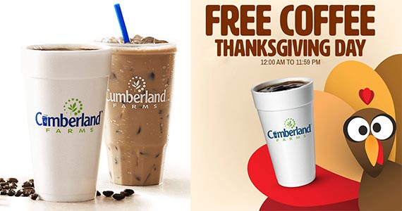 Free Coffee at Cumberland Farms – TODAY ONLY!