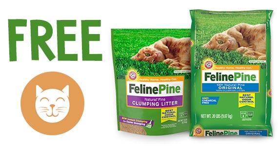 Free Feline Pine Cat Litter