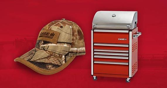 Free Case IH Hat & Win a BBQ