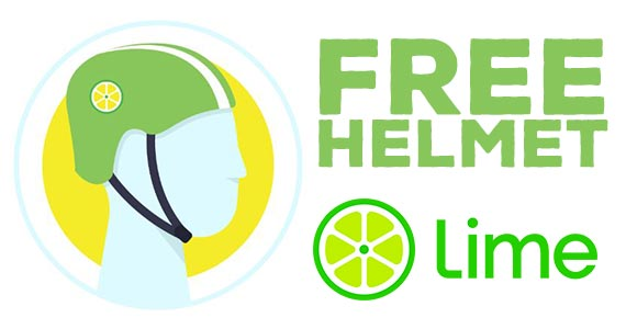 Free Helmet – First 25,000!
