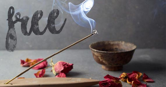 Free Sample of Holiday Incense