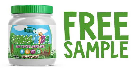 Free Grass Kids Chocolate Protein Shake