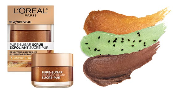 Free Sample of L'Oreal Pure-Sugar Scrub