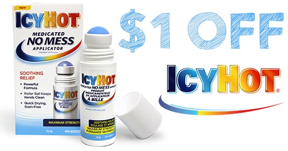 Save $1 off Icy Hot