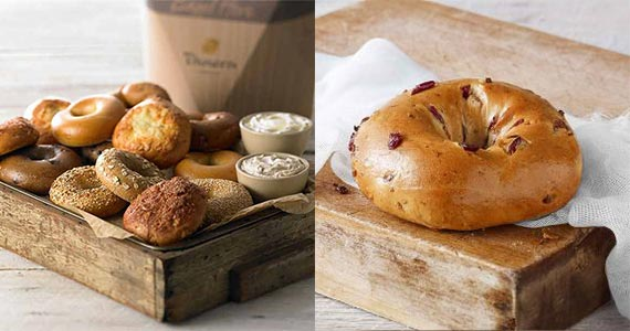 Free Bagel Every Day This Month at Panera Bread