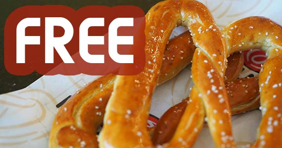 Join Pretzelmaker For a Free Pretzel