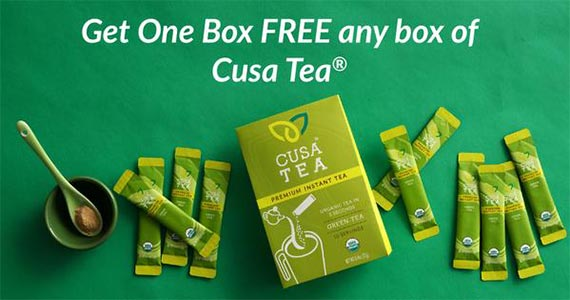 Free Box of Cusa Tea