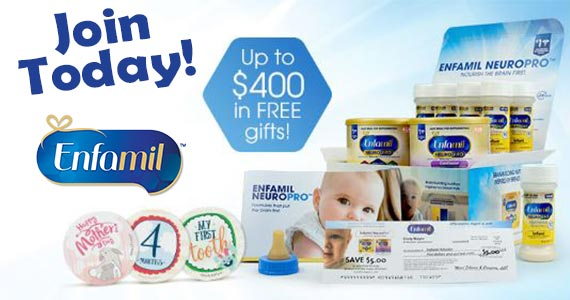 Free Baby Samples and Coupons From Enfamil