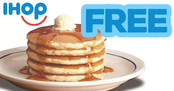 Free All You Can Eat Pancakes at IHOP