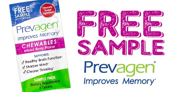 Free Sample of Prevagen Chewables